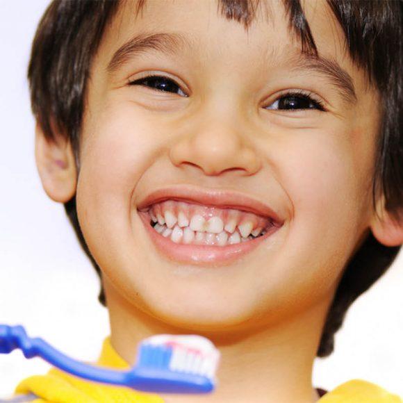 Consejos de cuidado dental para niños